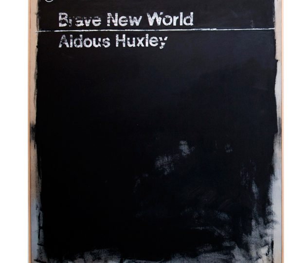 Cover #03 (Brave New World) is one of the 94 works that integrate the permanent exhibition of the Modern Collection of the Calouste Gulbenkian Foundation