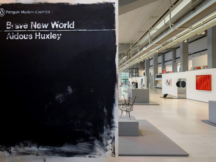 Cover #03 (Brave New World) is one of the works that integrate the permanent exhibition of the Modern Collection of the Calouste Gulbenkian Foundation